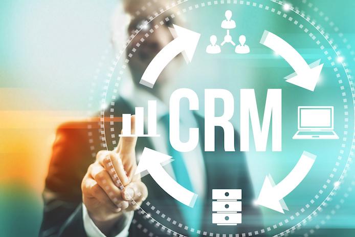 CRMの仕組みイメージ