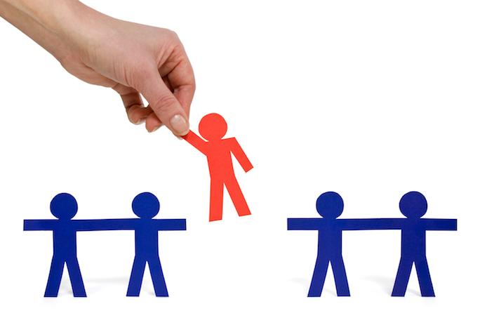 見込み客を選別する「リードクオリフィケーション」のイメージ