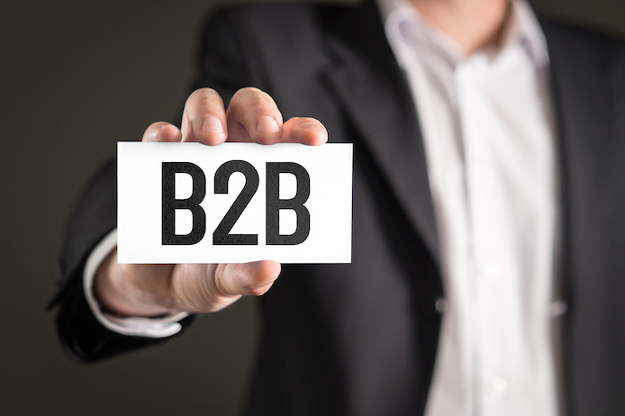BtoB営業、BtoBマーケティングのイメージ
