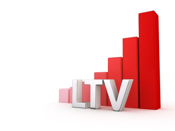 LTV(Life Time Value/ライフタイムバリュー)のイメージ